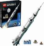 LEGO NASA Apollo Saturn V 92176 $169 Delivered @ Amazon AU