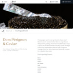 [NSW] Glass of Dom Pérignon Vintage 2010 Champagne and White Sterling Caviar $55 @ Selected Merivale Venues