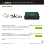 Hubitat (Smart Home Automation Hub) US$115 (Was US$149.95) + US$40 Shipping (~A$214 Shipped)