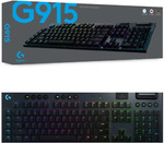 [eBay Plus] Logitech G915 Linear Wireless Mechanical Gaming Keyboard $266.01 Delivered @ The Gamesmen eBay