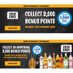 Bonus flybuys Points: 2000 with $50 Spend; Additional 2000 with $100 Spend on Selected Items @ First Choice Liquor