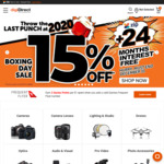 Boxing Day: 15% off (Not Storewide) @ digiDIRECT