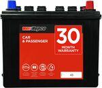 Repco Car Battery 325CCA-43HP $119 C&C in-Store @ Repco