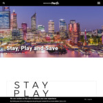 [WA] $200 Perth Hotels Voucher - $400 Minimum Spend + Min 2 Nights Stay, on Sun →Thu Inclusive
