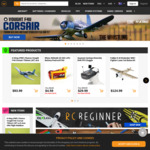 10% off Sitewide (Min. Spend $125, Excludes New Products) @ HobbyKing