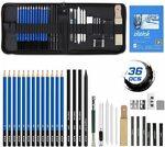 40% off 36 Pcs Sketching Pencils set $32.31 + Delivery ($0 with Prime/ $39 Spend) @ Eocean-Au via Amazon AU