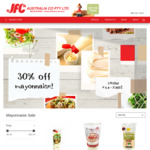 [VIC] 30% off All Japanese Mayonnaise + Delivery/ VIC C&C @ JFC Online