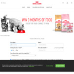 Win 1 of 4 Prizes of 3 Months' Supply of Dog/Cat Food Worth Up to $735 from Royal Canin