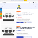 ANNKE H800 4K UHD Poe Security Camera System w/2TB HDD US$403.99 (~A$517.63) Delivered @ Annke