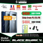 "Xiaomi Black Shark 4 5G, 6.67"" AMOLED 144Hz, 8GB, 128GB US$483.80 (A$623.28) Shipped @ Black Shark Official AliExpress"
