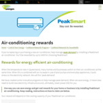 [QLD] $200/$400 Peaksmart Air Con Cashback @ Energex | $100-$400 Bonus Gift Card for Select Air Con Models @ Mitsubishi Electric