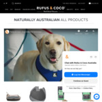 20% off Sitewide + Free Shipping for Orders over $50 @ Rufus & Coco