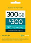 Optus Prepaid $300 Mobile SIM Starter Kit - $225 Delivered @ Optus (Online Only)