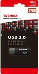 Toshiba USB 3.0 BE03 Series Flash Drive 32GB $6 + Delivery ($0 C&C) @ BigW