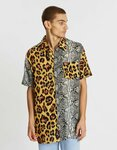 LOCALE Oversized Contrast SS Shirt $6.96 + $7.95 Shipping (Was $59.99) @ The Iconic Outlet