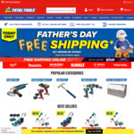 Free Delivery on all Orders (No Min Spend) @ Total Tools