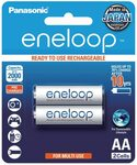 Panasonic Eneloop AA (BK-3MCCE/2BA) 2 Pack - $9.75 ($8.24 S&S) + Delivery ($0 with Prime/ $39 Spend) @ Amazon AU