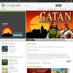 Settlers of Catan for Android AU$2.09 (25% off)
