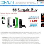 MLN: Xbox 360 4GB Console $129 + $19 Shipping OR Pickup In-Store [VIC]