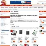 HP MicroServer N40L $209, N54L $269   SanDisk SSD 120GB $89, 240GB $159   Bundle Offers