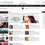 Lookfantastic - 25% off Redken, 20% off Kerastase + Free Gift When Purchasing 2, Free Shipping