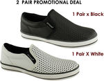 2 Pairs of Dunlop Streamline Kids/Boys Casual Shoes ONLY $15 + $9.95 P&H!