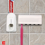 Automatic Toothpaste Dispenser Brush Holder Touch Set $5.95 +P&H @ Shopping Square