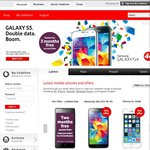 iPhone 5s and Galaxy S5 Price Drops on Red Unlimited Plans @Vodafone