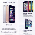 iPhone 6 from $858 ($815.50 with 5% off gift cards) at Big W