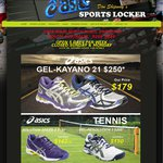 Asics Kayano 21 $176 @ Sports Locker SA