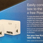 FREE Powerline Ethernet Adapters for Foxtel iQ Customers