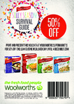 50% off One Lean Cuisine Meal Each Day until 14 Dec at Woolworths