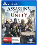 Assassin's Creed Unity PS4 XBOX One $47.20 @JB Hi-Fi after 20% Gift Card Discount