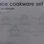 Modern Living 5 Piece Cookware Set Was $119 Now $30 @ Target, Kotara, NSW