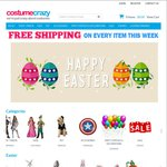 Free Shipping on Every Item @ Costume Crazy