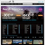San Francisco Return MEL $929, SYD $946, BNE $945, ADL $1124, PER $1176 @ Air New Zealand