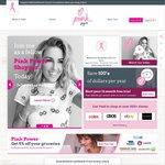 Pink - New Cashback Site - Free 1yr Membership (Save $39.95)
