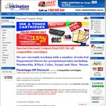 15% off INKSTATION Printer Cartridges