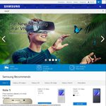 15% off Everything Starts Boxing Day @ Samsung Online Store