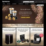 Nespresso - Receive 10 Free Ristretto and 10 Volluto Capsules for Order of Any 130 Capsules