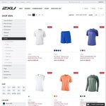 2XU Outlet Men Women Tops Short & Long Sleeve, Shorts $20 (Free Delivery) + 10% off Code