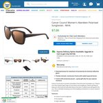 Cancer Council Women's Polarised Sunglasses $7 Delivered @ COTD (Club Catch Membership Required)