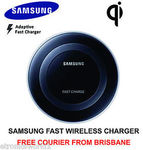 Genuine Samsung Wireless Charging Pad Fast Charger QI $38.21 ($35 with Best Offer) @ eBay Etronicsworld1