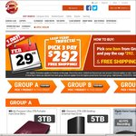 Shopping Express Trifecta - 3 Items for $292 Shipped - G810/3TB HDD/24 Port Switch