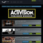 Activision Publisher Weekend Steam Games up to 80% off