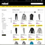 40% off Reebok, Puma, Asana and New Balance Clothing @ Rebel Sport