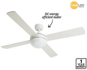 52 Dc Ceiling Fan With Led Remote 169 Aldi Ozbargain
