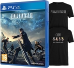 Final Fantasy XV Day One Edition PS4 Game (Bonus DLC + Exclusive T-Shirt) from OzGameShop, $75.99, Free Shipping