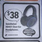 Sennheiser HD451 over-Ear Headphones $38 (was $98) @ Harvey Norman 9/2