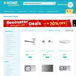 Up to and over 70% OFF RRP 'Renovator Deals' Promotion @ Home Clearance